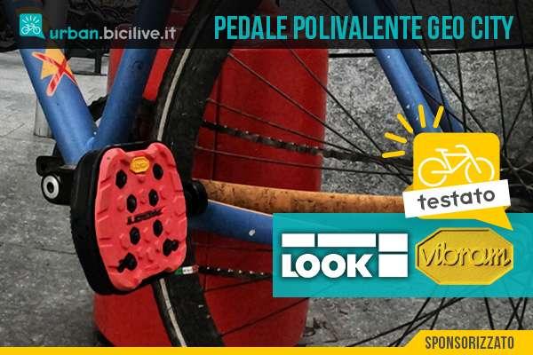I nuovi pedali polivalenti Geo City Look in collaborazione con Vibram