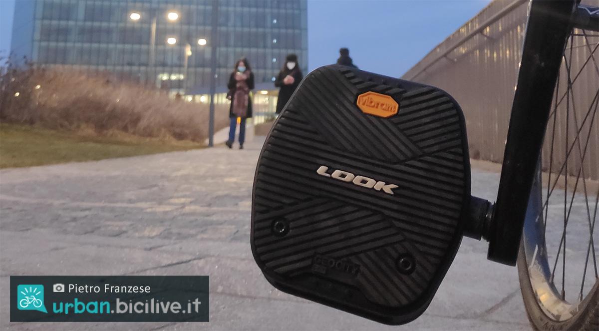 Uno zoom sul pedale Look e Vibram Geo City testato da Pietro Franzese