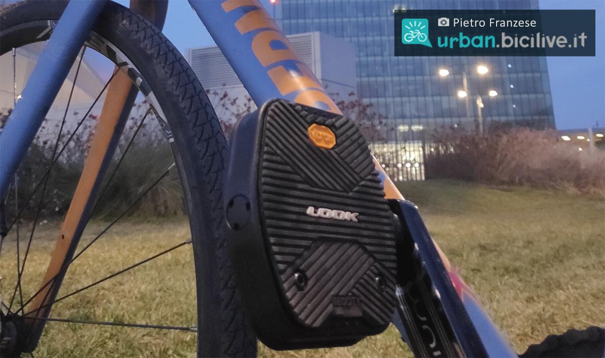 I pedali Look Vibram Geo City utilizzati in città da Pietro Franzese