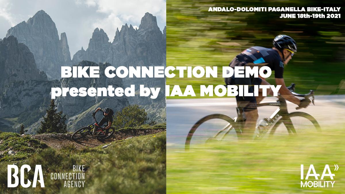 L'evento Bike Connection Demo 2021 in collaborazione con IAA Mobility