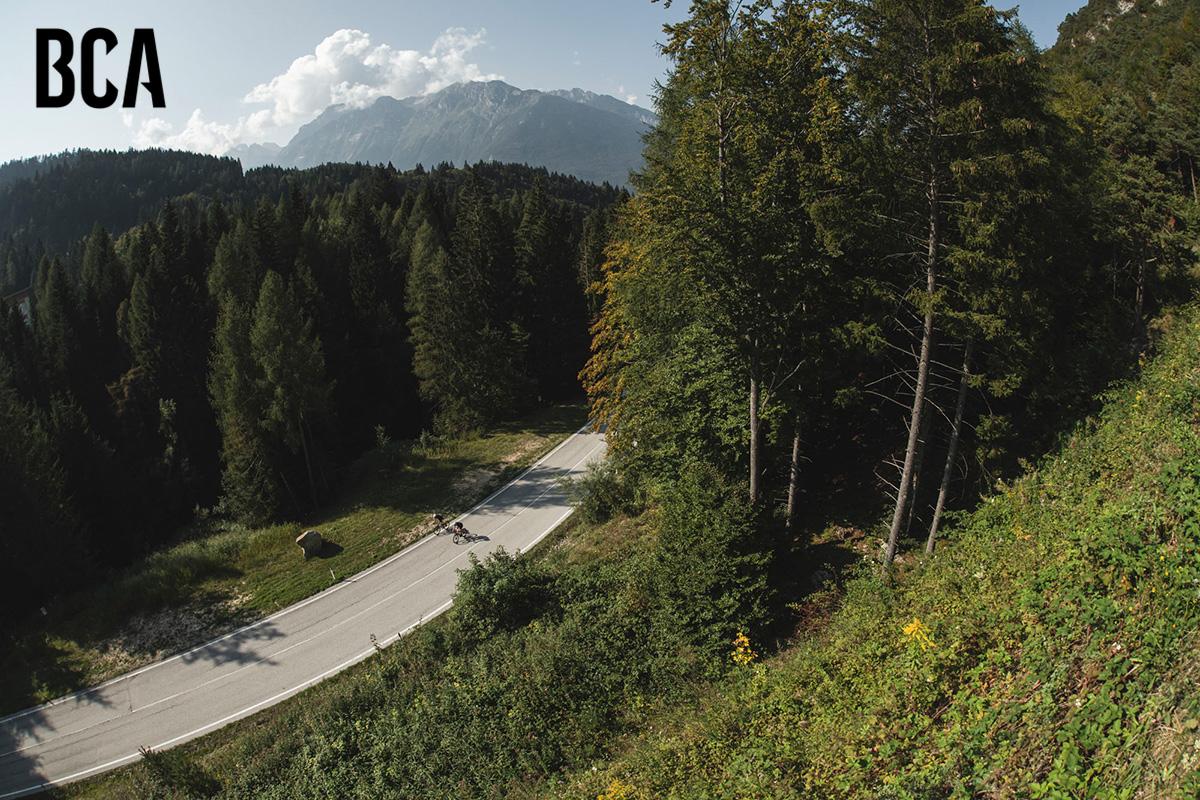Lo splendido panorama naturalistico nel quale si terranno i Bike Connection Demo 2021