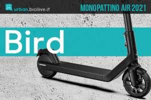 Il nuovo monopattino elettrico Bird Air 2021