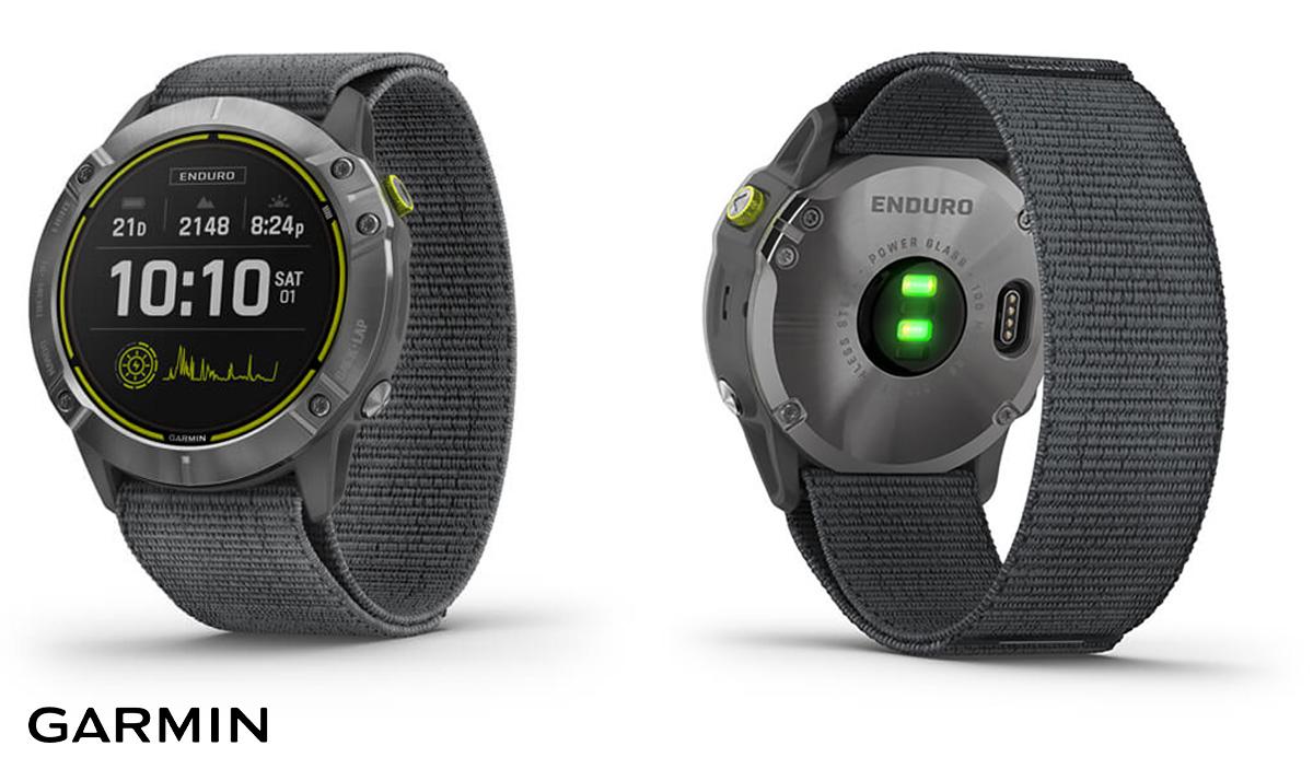 Il nuovo smartwatch sportivo Garmin Enduro 2021