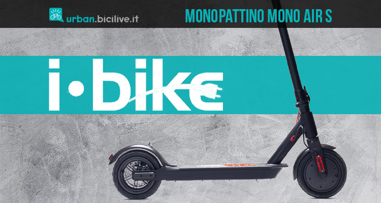 Il nuovo monopattino elettrico Ibike Mono Air S 2021