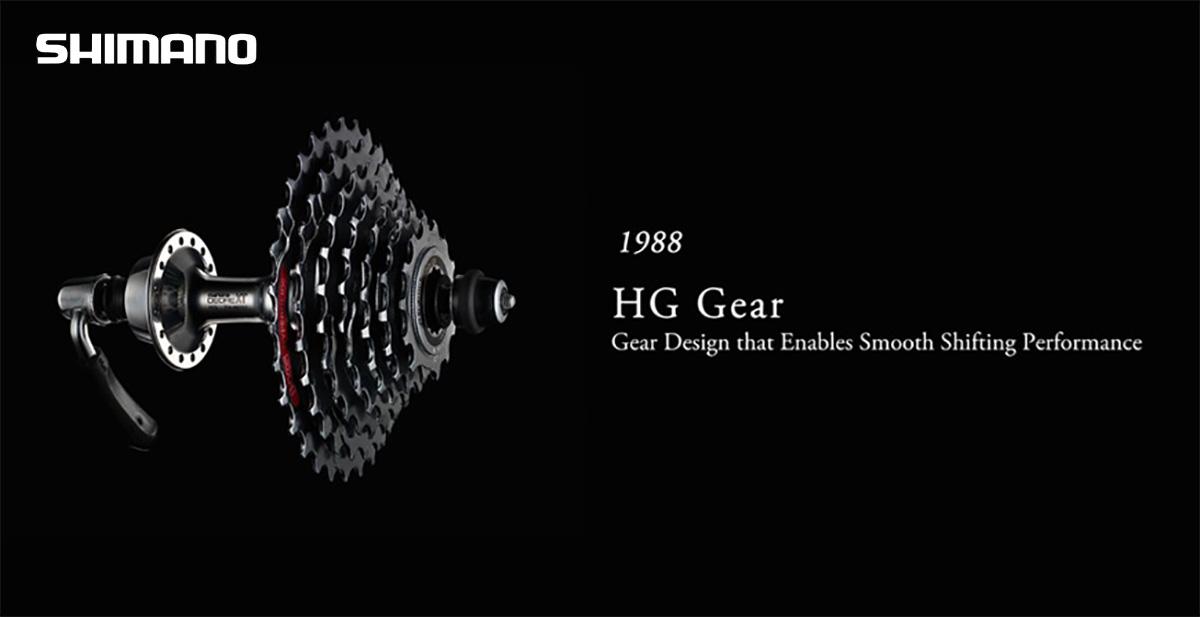 Il primo sistema Shimano Hyperglide