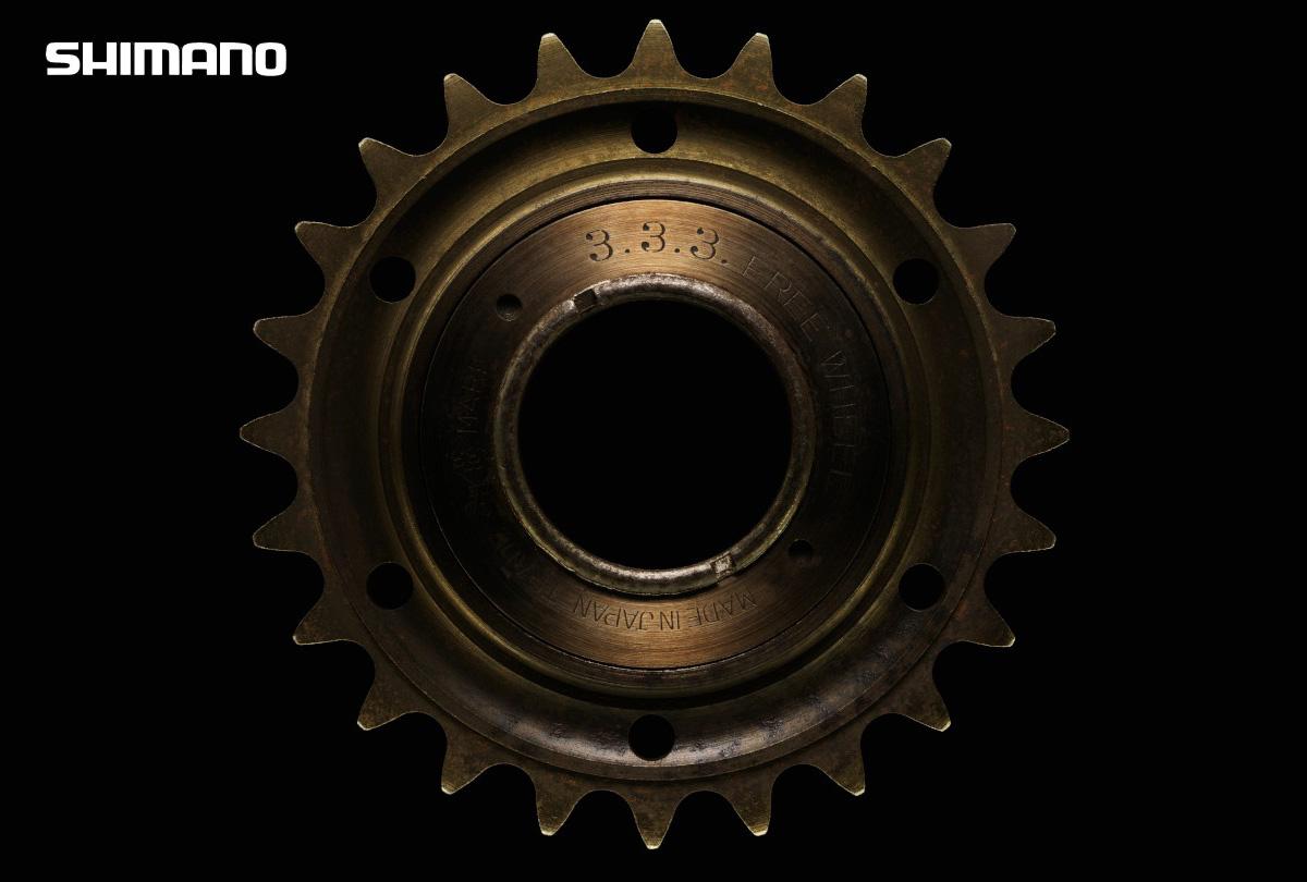 Il primo meccanismo a ruota libera Shimano 3.3.3