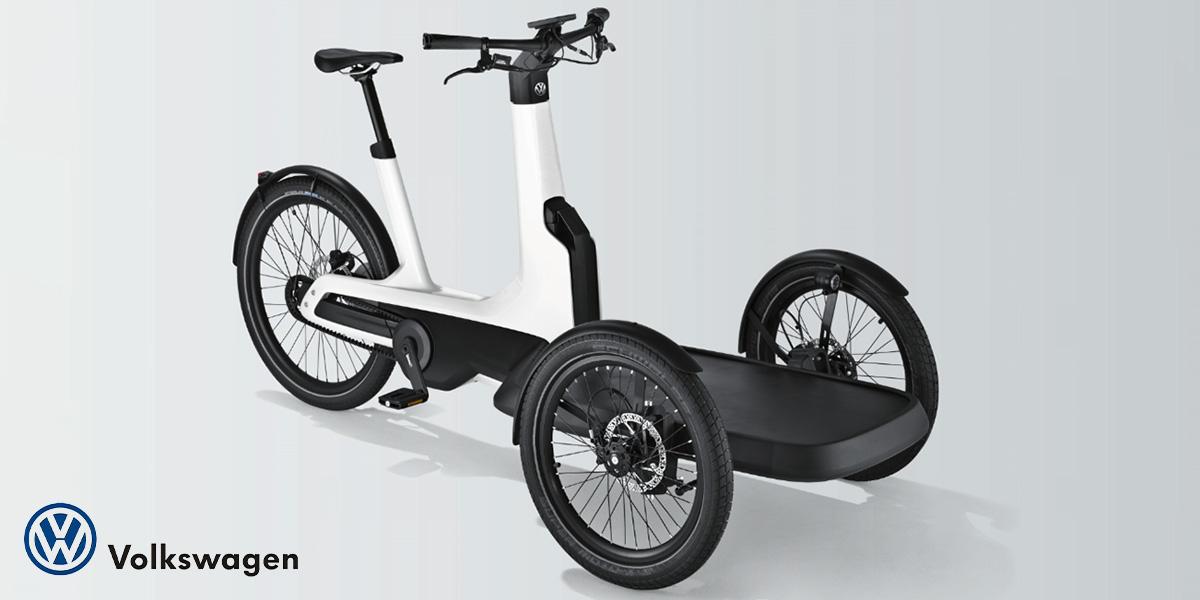 La nuova cargo bike elettrica progettata da Volkswagen