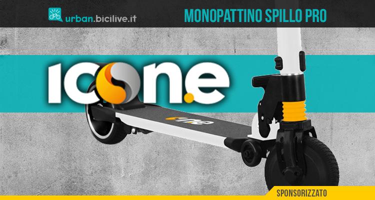 Il nuovo monopattino elettrico Icone Spillo Pro 2021