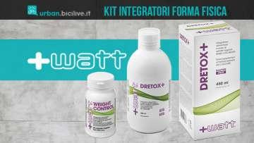 Il kit di integratori +Watt per la forma fisica