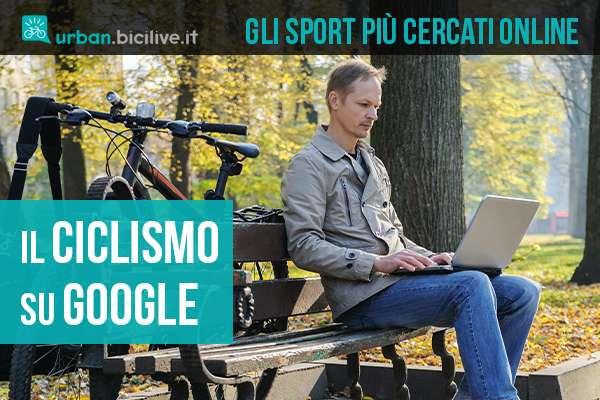 I risultati di ricerca degli sport su google nel 2020