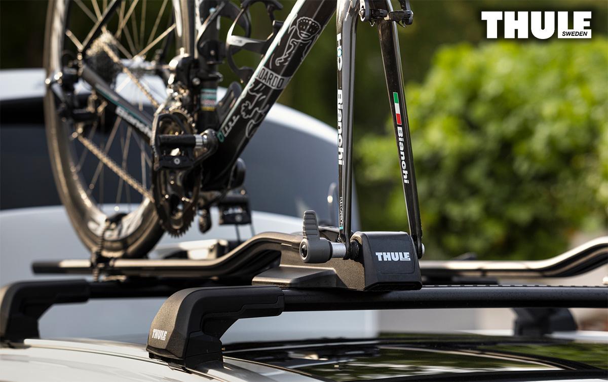 Il nuovo supporto portabili per auto Thule Fastride 2021