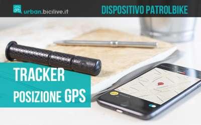 Il dispositivo di sicurezza per il tracciamento gps delle biciclette Patrolbike