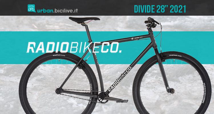 "Radio Bikes Divide 28"": city bike single speed"