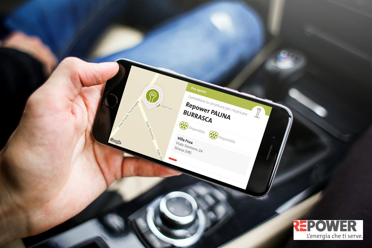 Un'app per lo sharing di auto elettriche 2021
