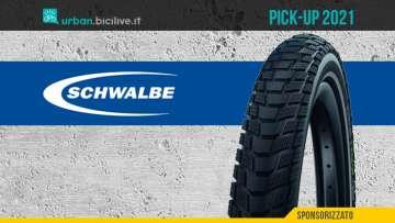 Il nuovo copertone per biciclette Schwalbe Pick-up 2021