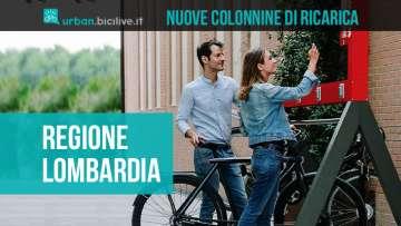 La Regione Lombardia stanzierà nuovi fondi per la costruzione di nuove colonnine di ricarica