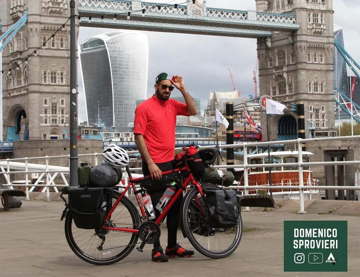 Domenico Sprovieri a Londra è in viaggio per raccogliere fondi per la ricerca sul rene policistico
