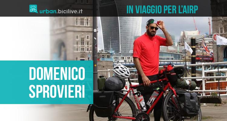 La storia di Domenico Sprovieri in viaggio con la sua bici per la ricerca sul rene policistico