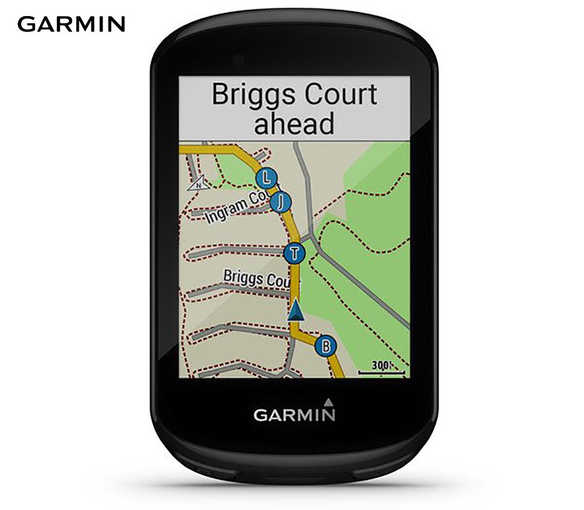 Indicazioni stradali fornite sul display dal ciclo computer Garmin Edge 830