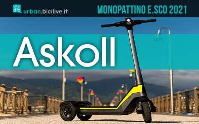 Il nuovo monopattino elettrico Askoll E-sco 2021