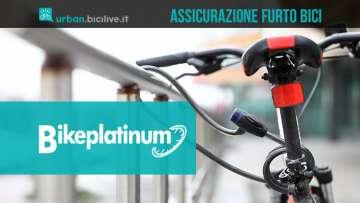 La nuova assicurazione contro il furto di biciclette Bikeplatinum