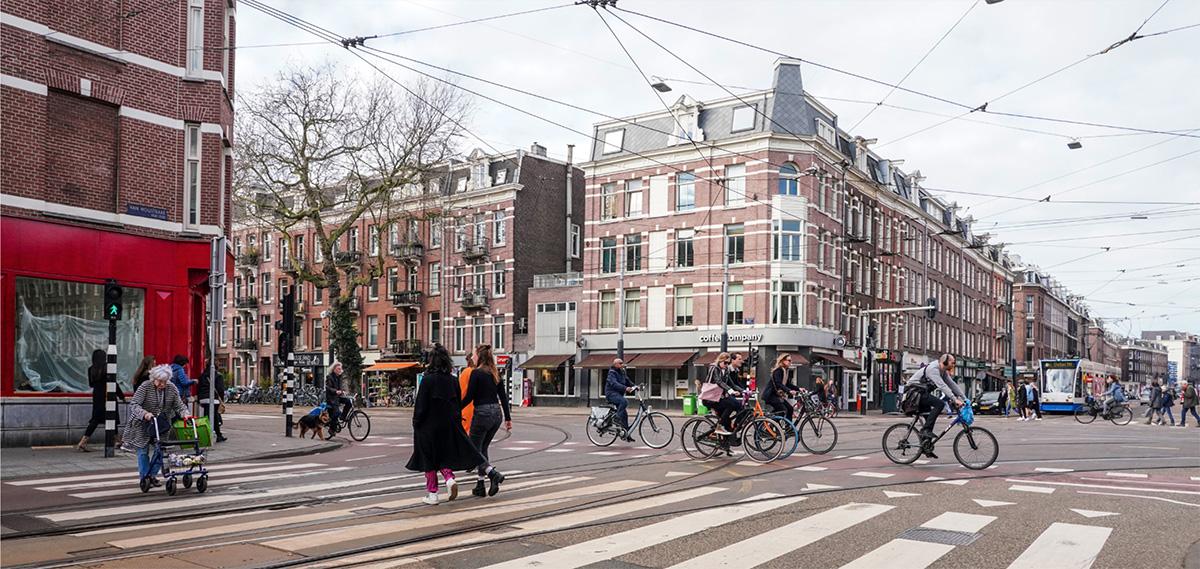Uno scatto della città di Amsterdam