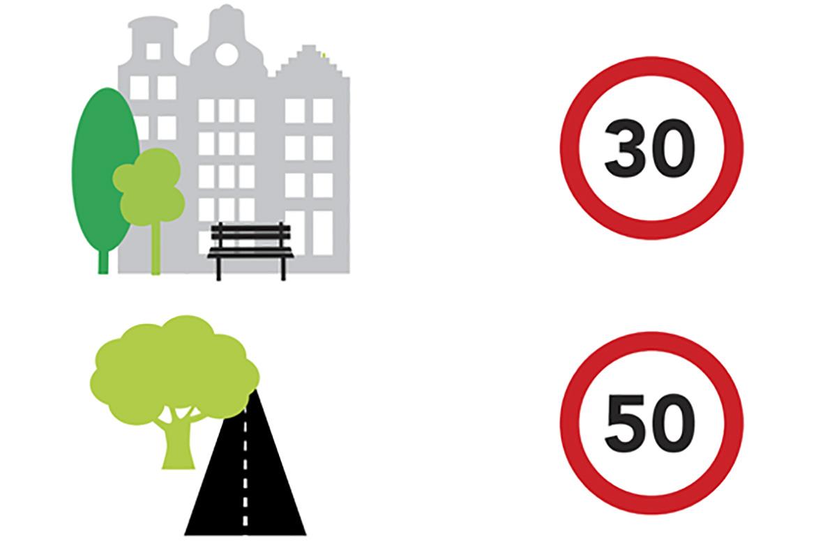 I limiti di velocità che entreranno in vigora all'interno di Amsterdam
