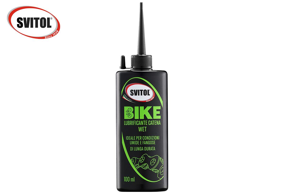 Il lubrificante wet umido della linea bike di Svitol