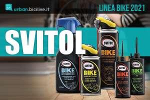 La nuova linea di prodotti per bici Svitol Bike 2021