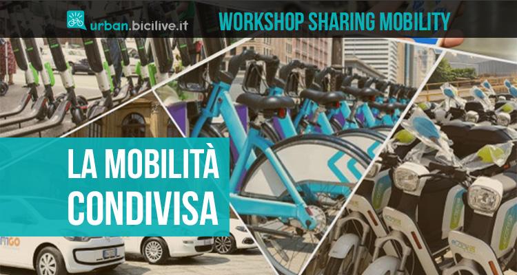 Il workshop online che presenta i dati 2021 sulla mobilità condivisa in Italia