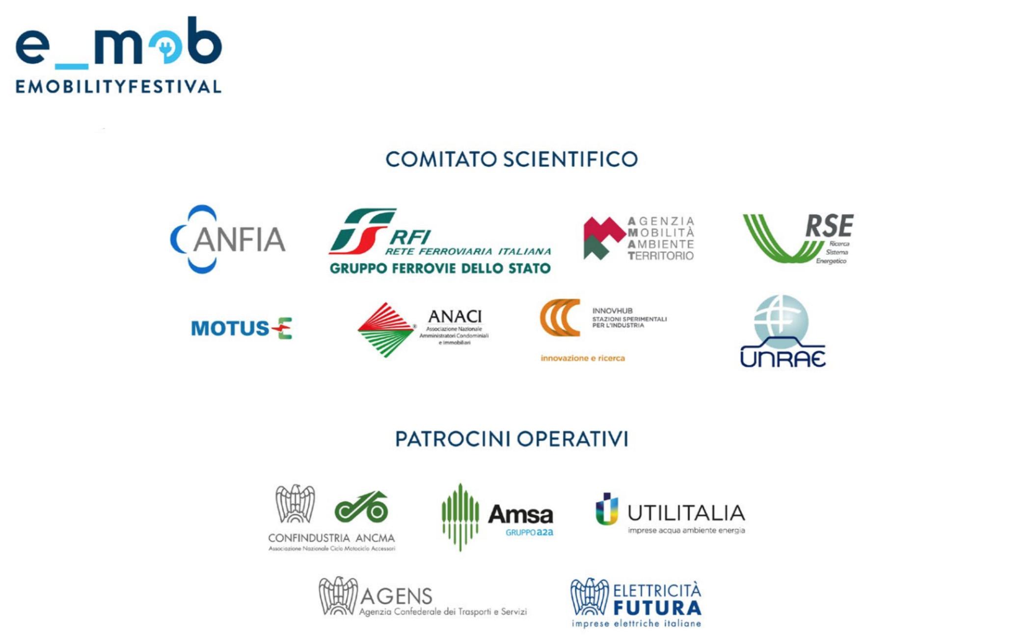 La lista del comitato scientifico dell'edizione 2021 del Festival Nazionale Mobilità Elettrica