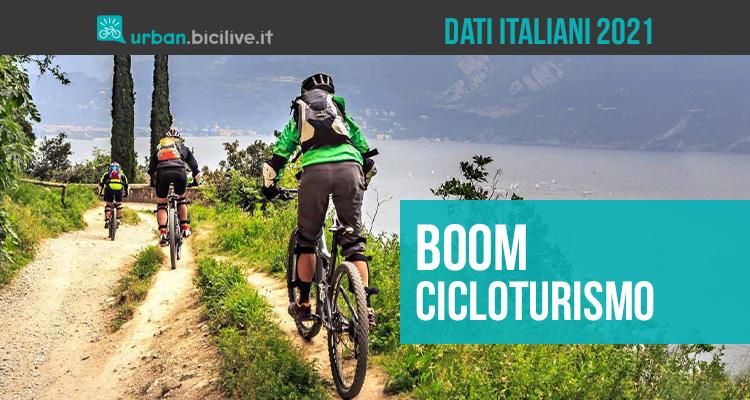 Il 2021 sta vivendo un boom per il cicloturismo in Italia