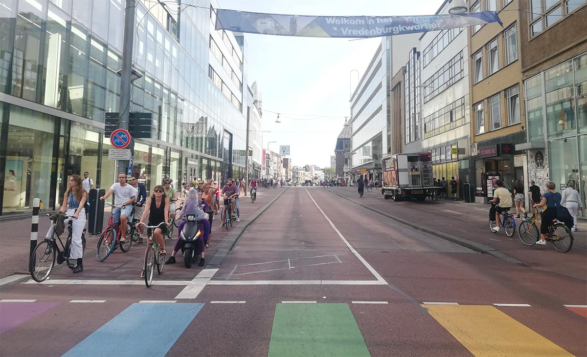 La pista ciclabile olandese Fietspad