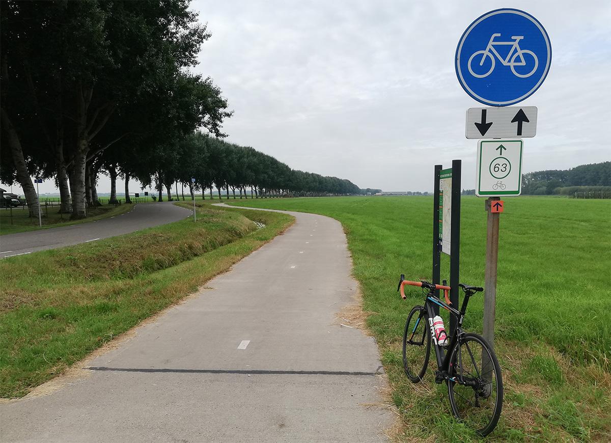 La ciclabile Knoppunten presente in Olanda