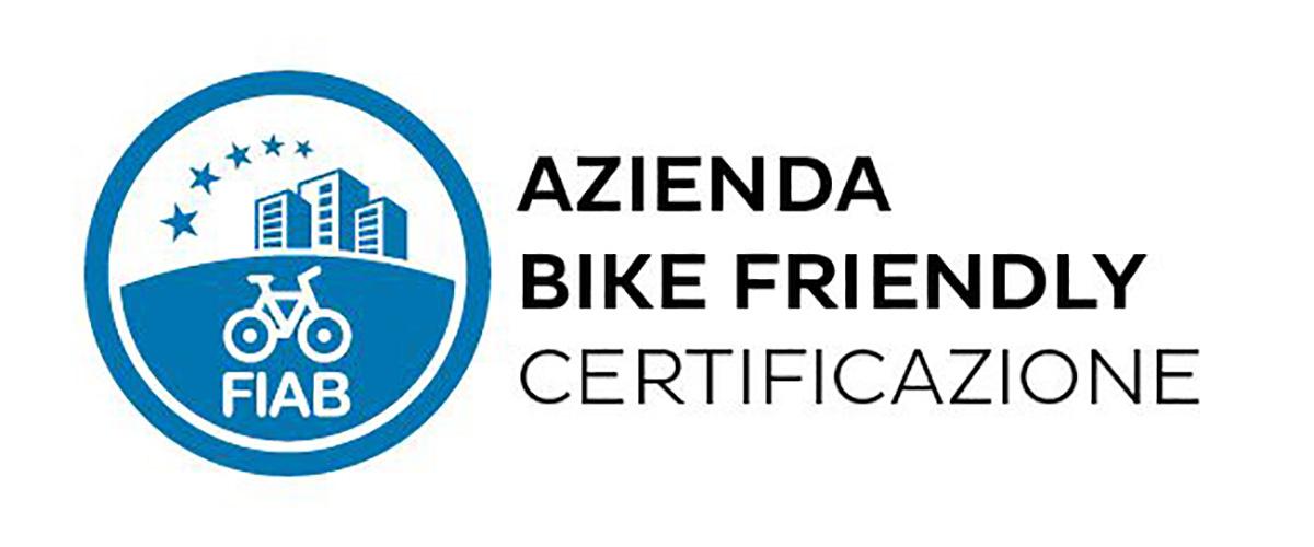 Il logo della certificazione di azienda bike friendly rilasciata da FIAB