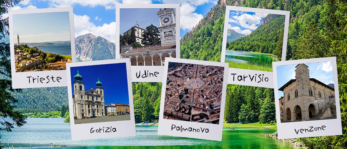 Le città del Friuli tra le quali è possibile muoversi con il treno e la bici insieme