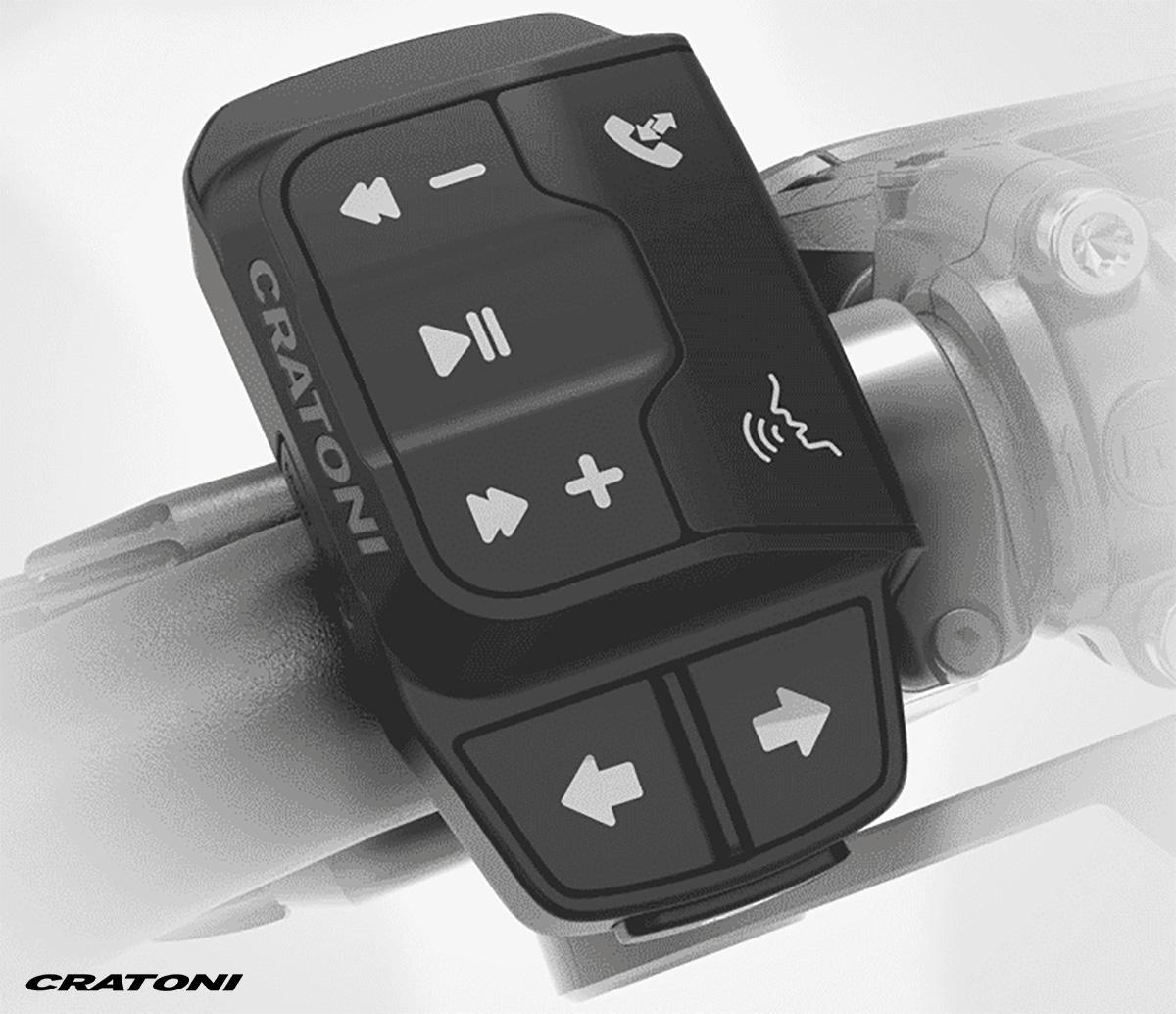 Il comando del nuovo casco per ebike Cratoni Smartride 1.2