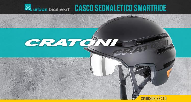 Cratoni Smartride 1.2 è il casco intelligente per la città