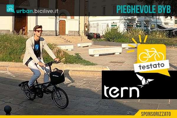 Il test di BiciLive della nuova bici pieghevole urbana Tern BYB