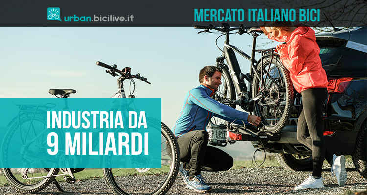 L'industria delle biciclette italiana vale 9 miliardi di euro nel 2021