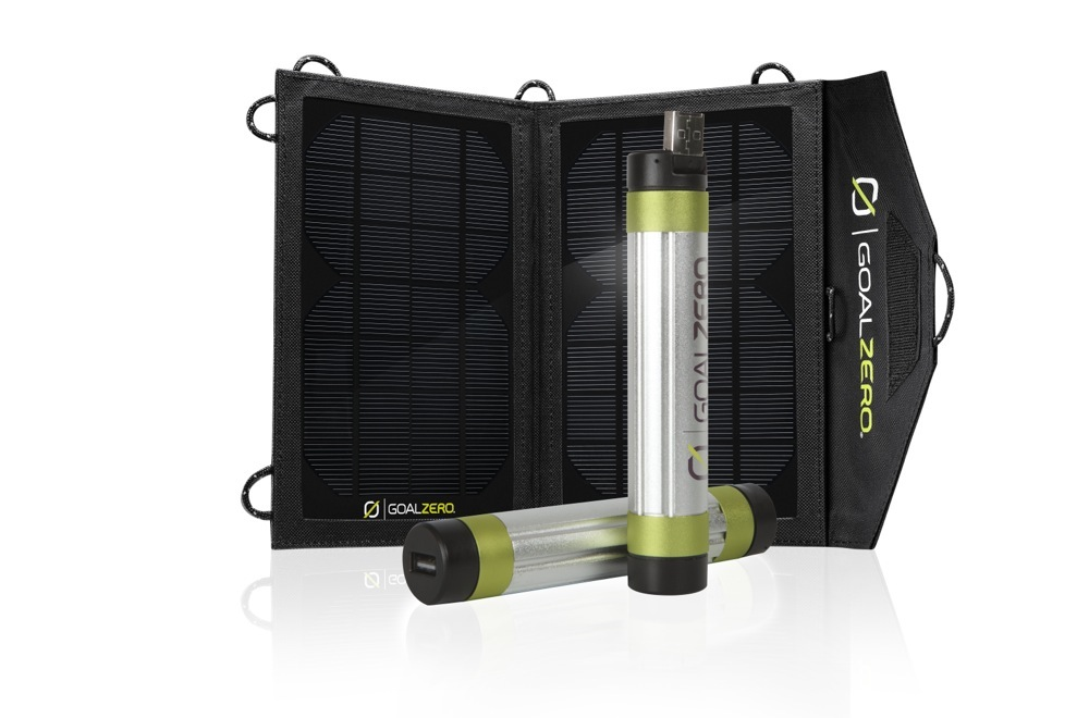 Ricarica batterie a energia solare Switch 8