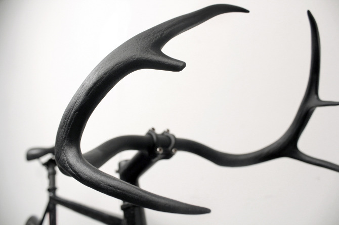 Il manubrio per bici Moniker a forma di corna di cervo