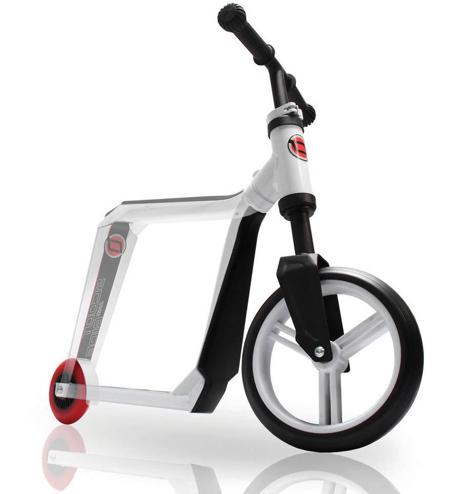 Il monopattino Highway Gangster che si trasforma in bici senza pedali