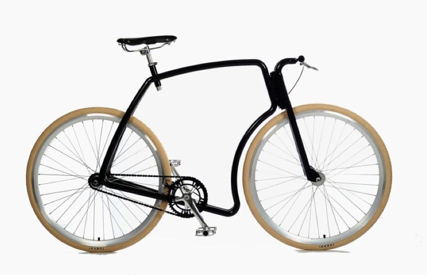 La bicicletta senza piantone Viks